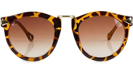 Bruna mönstrade solglasögon från NLY Accessories (reklamlänk via Apprl) c77047324f722