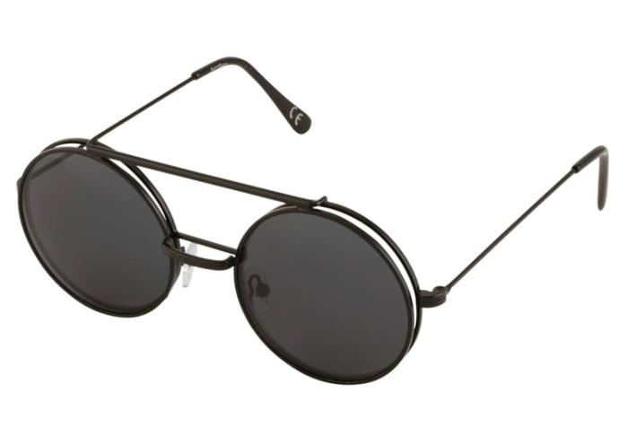 Runda svarta solglasögon med pilot-stuk från Jeepers Peepers (reklamlänk  via Apprl) 4b82e834386c1