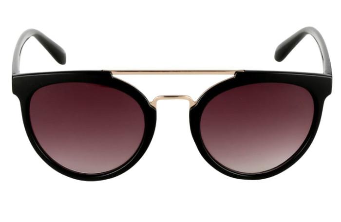 Svarta solglasögon i plast och metall från Even   Odd (reklamlänk via Apprl) f6925cdf6e626
