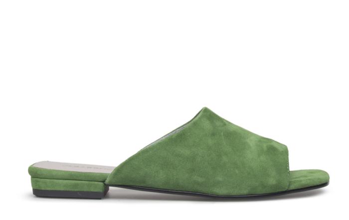 Gröna sandaler till Dam