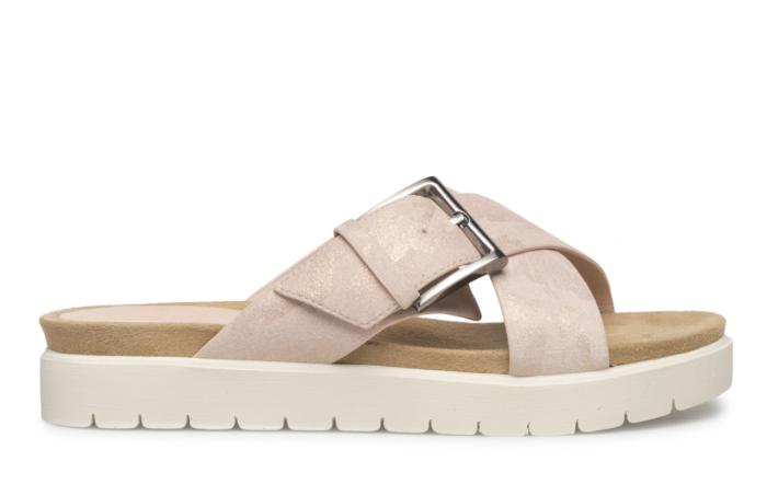 sandaler med tjock sula