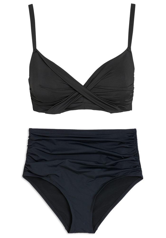 bikinibyxor med hög midja