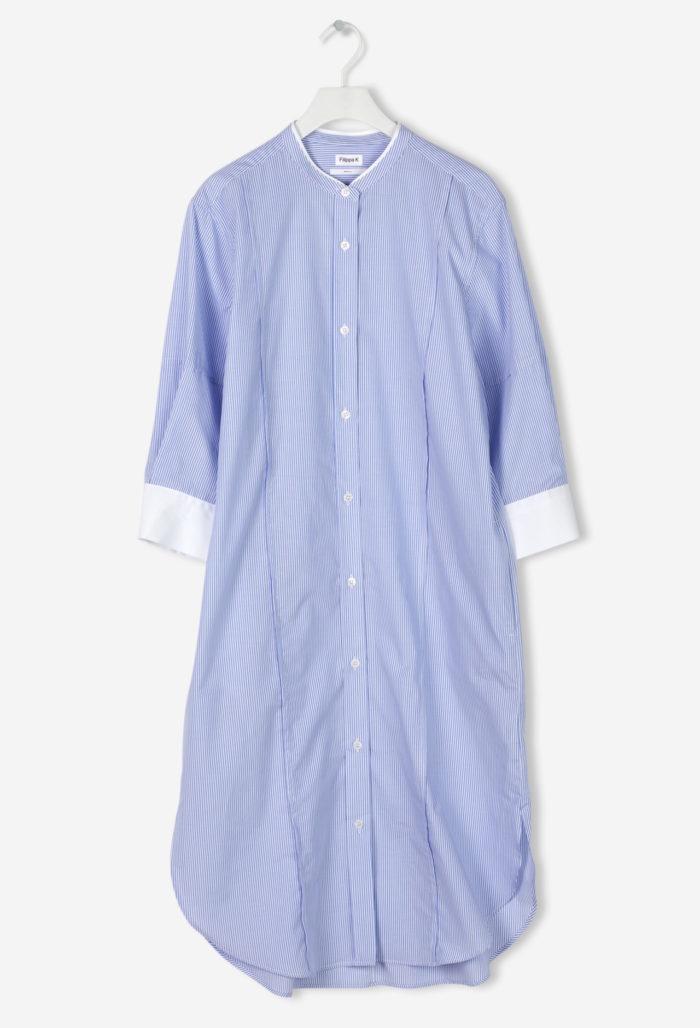 7a107433adc8 Blå skjortklänning med vita ärmslut från Filippa K (reklamlänk via  Tradedoubler) . 11.