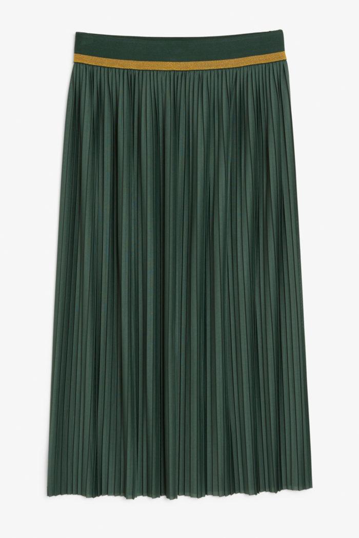 19 plisserade kjolar att bära hösten 2018 | Baaam