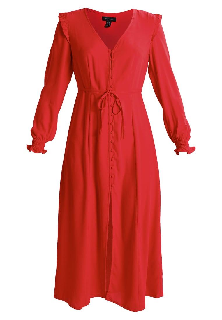 skjortklänning röd