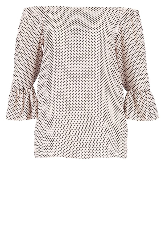 d6ceaac68cdc Prickig off shoulder-blus från Dorothy Perkins (reklamlänk via Apprl) .