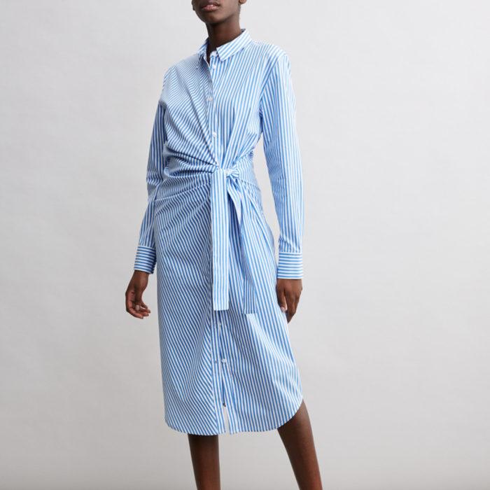 4c38164fe108 Skjortklänning med knytband i midjan från Minimarket (reklamlänk via  Adtraction) .