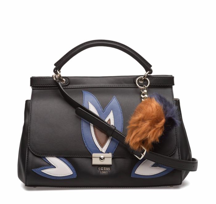 4. Handväska med dekorativ nyckelring från Guess (reklamlänk via Apprl) . 31237c27d1fb0