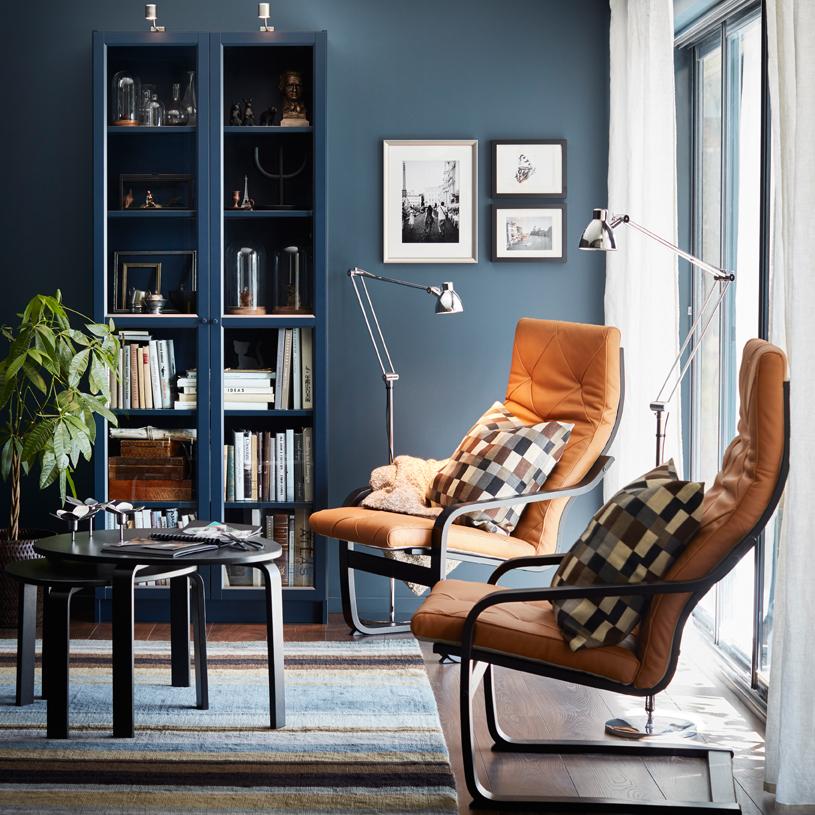 Så stajlar du Ikeas klassiska bokhylla Billy på 9 trendiga