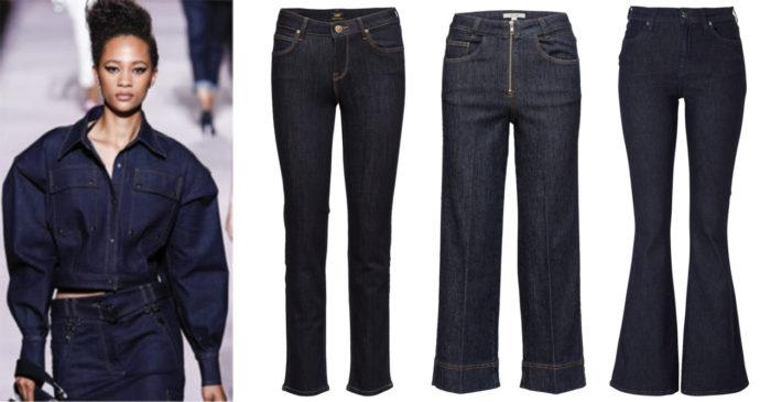 498aee843 Läs mer och köp här (reklamlänk via Tradedoubler) . 2. Mörka jeans med  dragkedja framtill från Dagmar (reklamlänk via Tradedoubler) . Läs mer och  köp här.