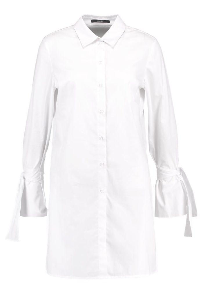 Vit skjorta i lång modell från Someday (reklamlänk via Zanox) . Läs mer och  köp här. (reklamlänk via Zanox) 862d59f1c98ad