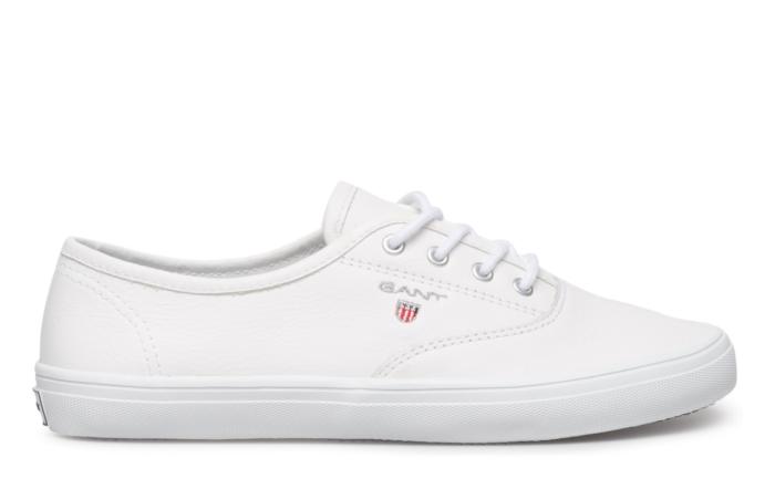 snygga vita sneakers dam