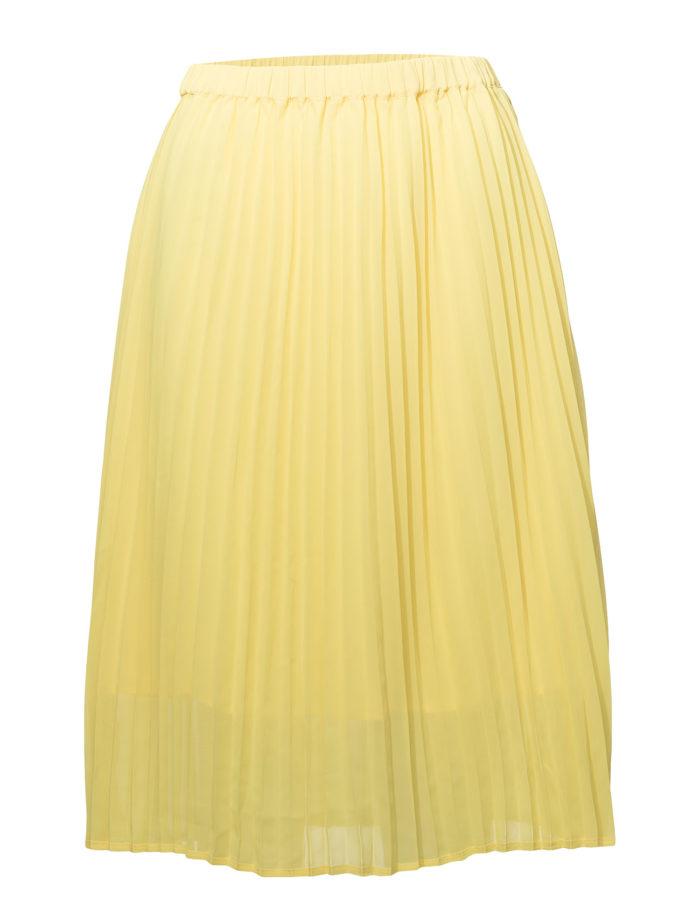 Gul plisserad kjol från Just Female (reklamlänk via Tradedoubler) . Läs mer  och köp här. (reklamlänk via Tradedoubler) 0ffb91ed2ff6d