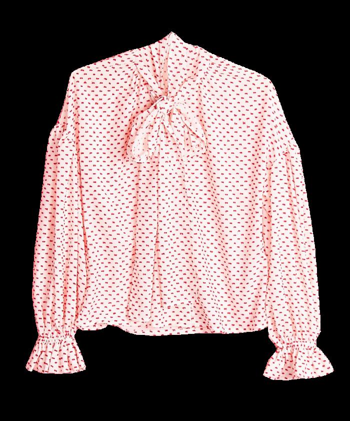 Prickig knytblus från Gina tricot. (reklamlänk via Tradedoubler) Läs mer  och köp här. (reklamlänk via Tradedoubler) 89f04519e7301