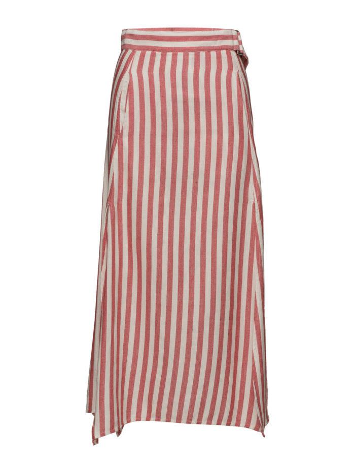 38f66709ac69 Randig kjol i längre modell från Mango (reklamlänk via Tradedoubler) .