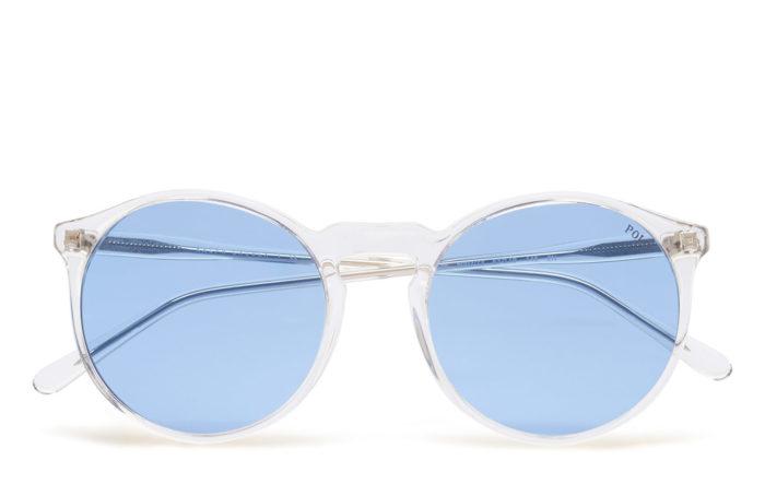 Transparenta solglasögon med blått glas från Polo Ralph Lauren (reklamlänk  via Tradedoubler) . Läs mer och köp här. (reklamlänk via Tradedoubler) 4aeaae2ef9f3d
