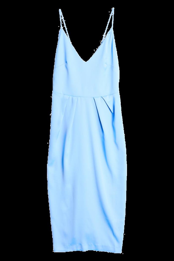 Blå klänning med tunna band från Gina tricot (reklamlänk via Tradedoubler) . a9cb702469b48