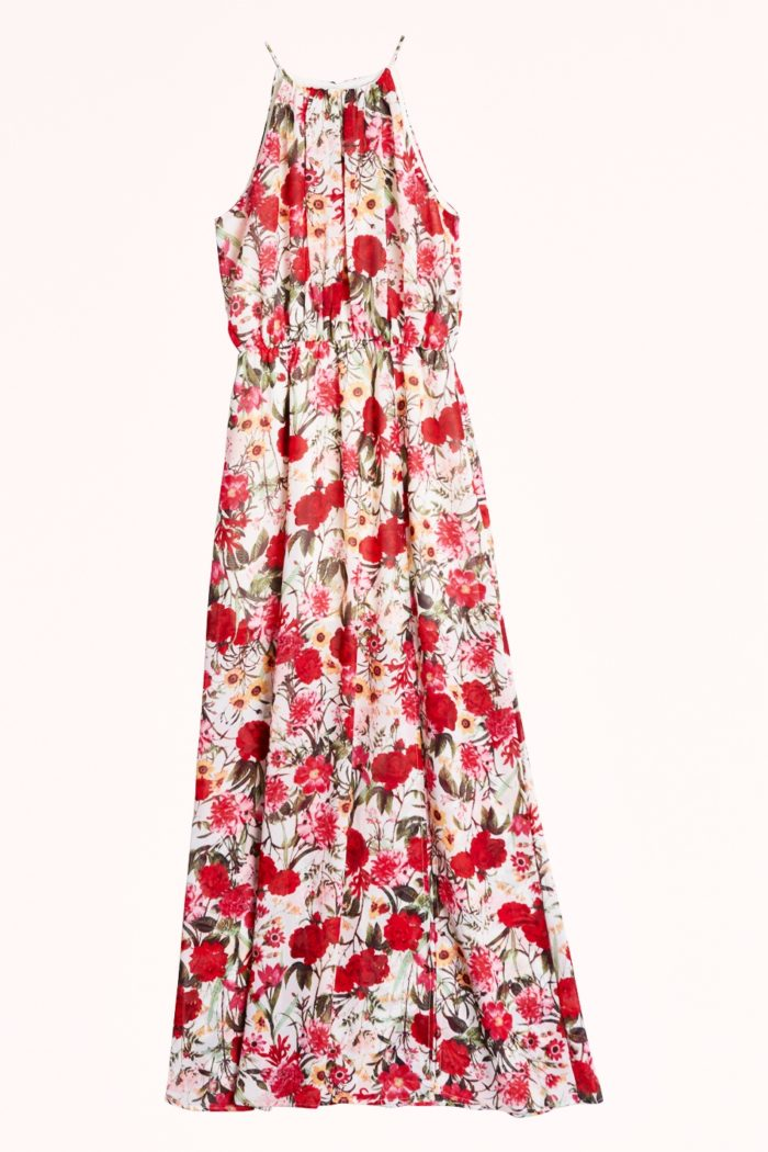 128163975623 Blommig klänning i lång modell från Gina tricot (reklamlänk via  Tradedoubler) . Läs mer och köp här (reklamlänk via Tradedoubler) .