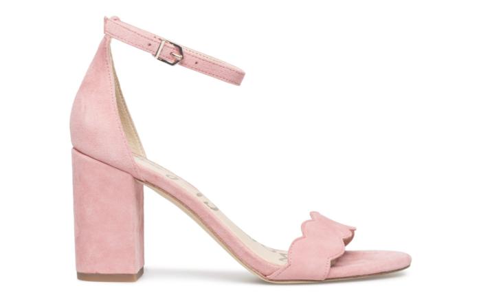 aa9e747e442 Puderrosa sandalett – perfekt till bröllop eller studentfest – från Sam  Edelman (reklamlänk via Tradedoubler) .