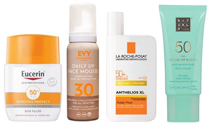 solskydd för känslig hud