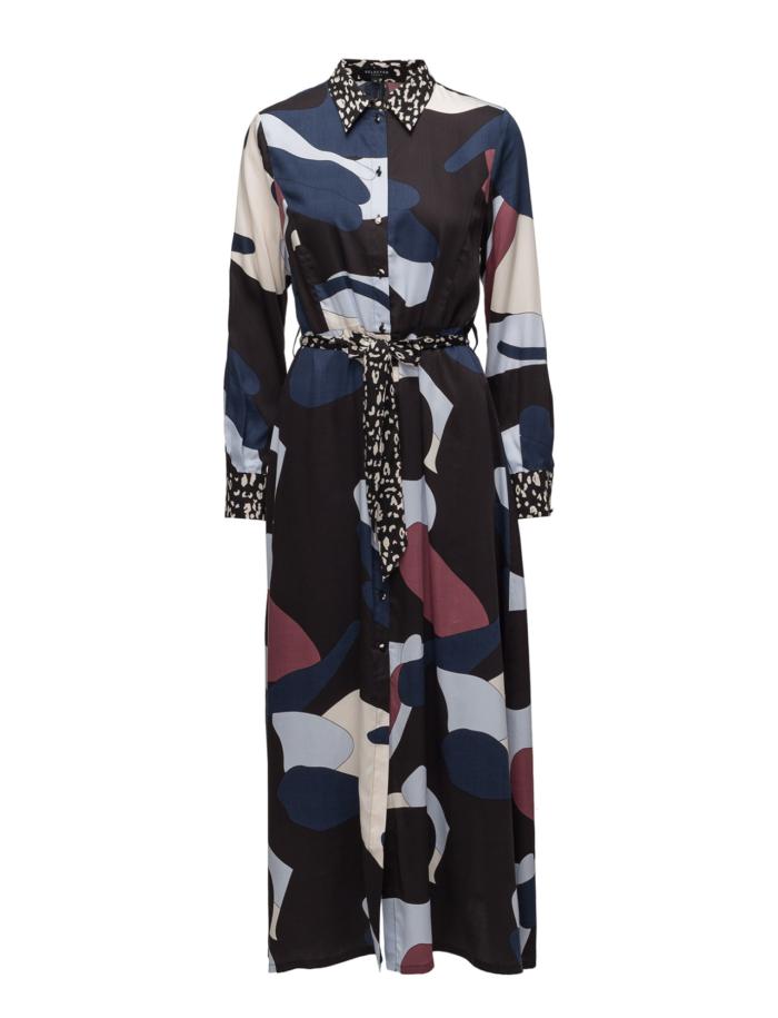bc753fb3fa8e Mönstrad skjortklänning från Selected Femme. (reklamlänk via Tradedoubler)