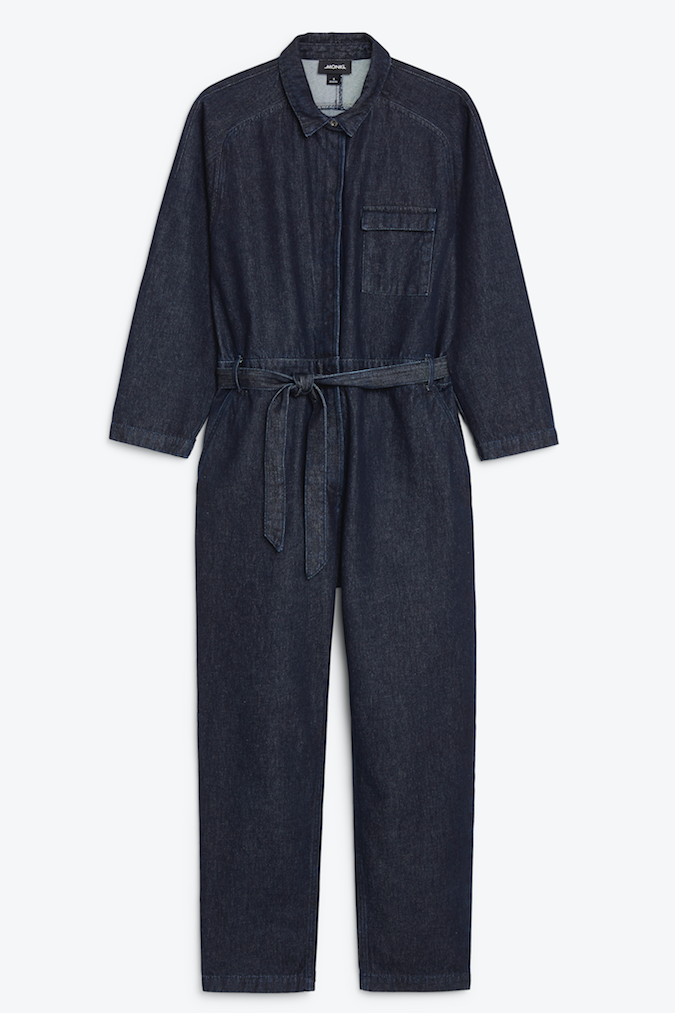 Monki denimkollektion höstmode 2018.