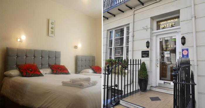 Billigt hotell nära Oxford street