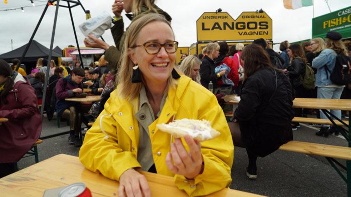 Elina Bratt Lejring var en av besökarna på Statement festival.