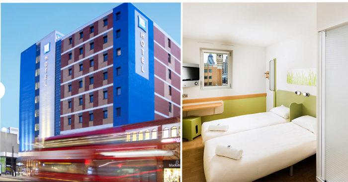 Ibis hotell i centrala London