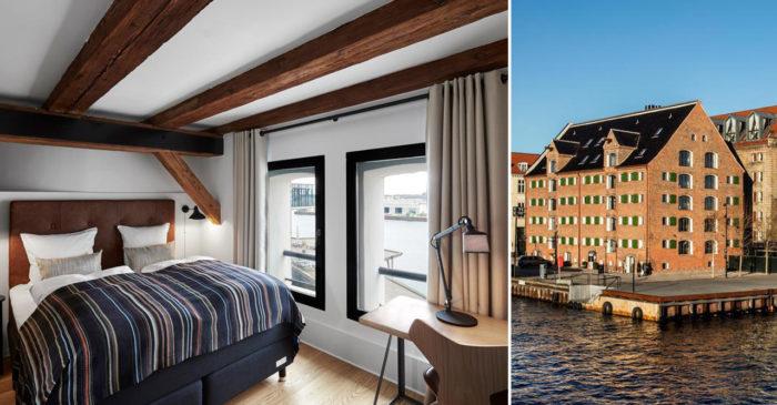 71 Nyhavn Hotel är ett mysigt och romantiskt hotell i Köpenhamn