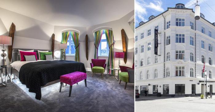 Hotell Absalon ligger i Vesterbro i Köpenhamn
