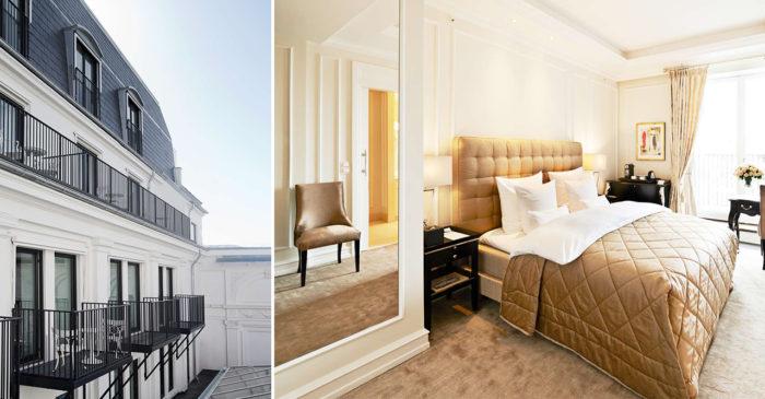 Hotel d'Angleterre är ett exklusivt hotell med central placering i Köpenhamn