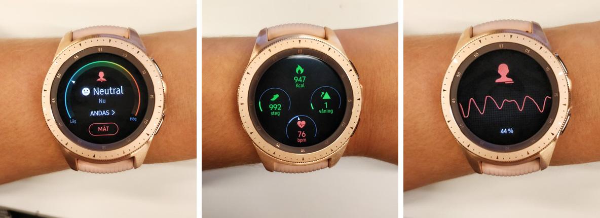 Samsung Galaxy Watch mäter din träning och håller koll på din hälsa