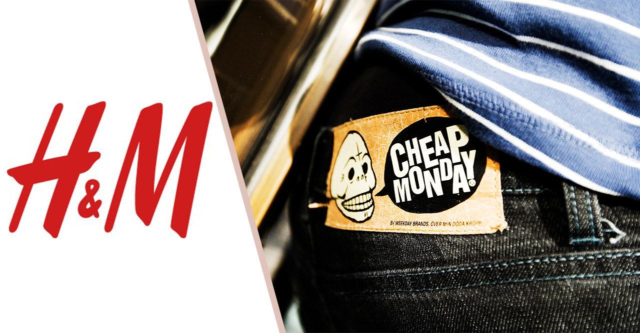 H&M lägger ner Cheap Monday