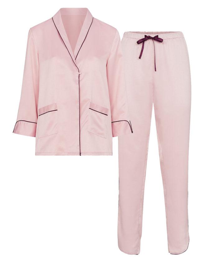 Rosa pyjamas till vintern