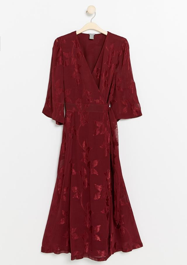 Röd klänning till julen
