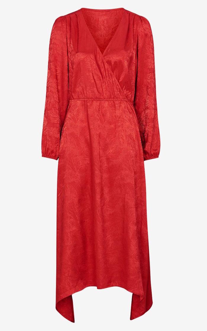 Röd klänning till julafton