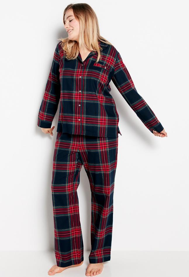 Rutig pyjamas till julen 2018