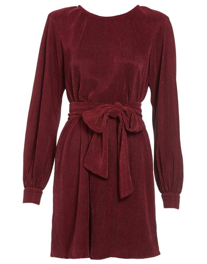 Röd klänning till julafton 2018