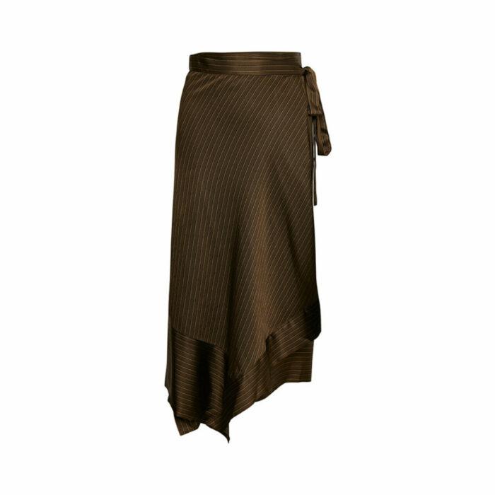 Brun kjol till fest
