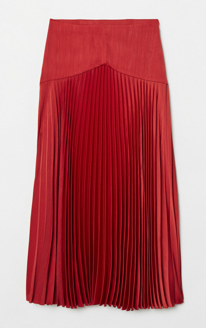 Plisserad kjol till fest
