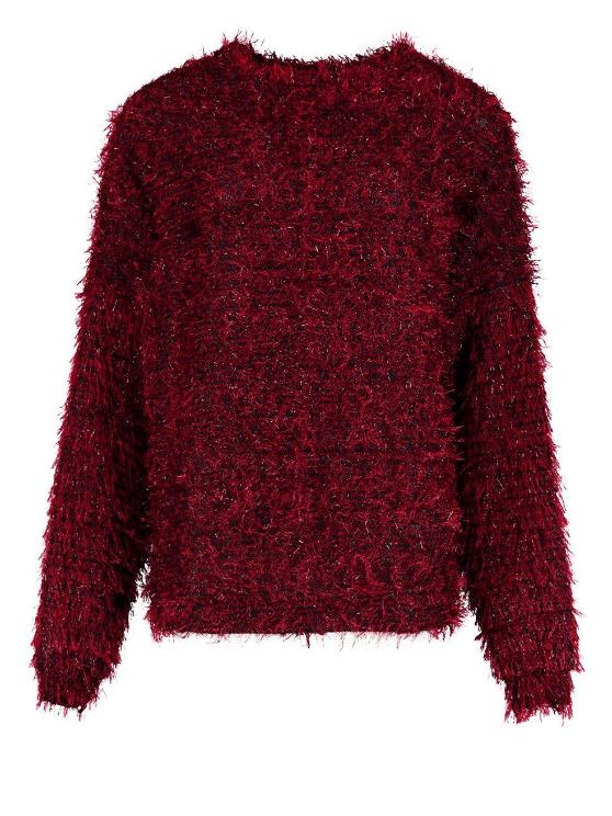 Röd tröja till julafton 2018