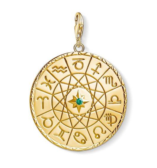 Smycke med stjärntecken i guld