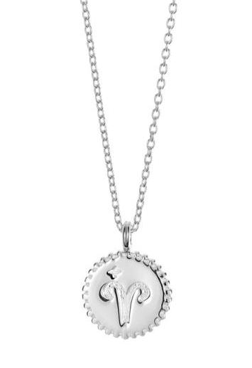 Smycke med stjärntecken väduren