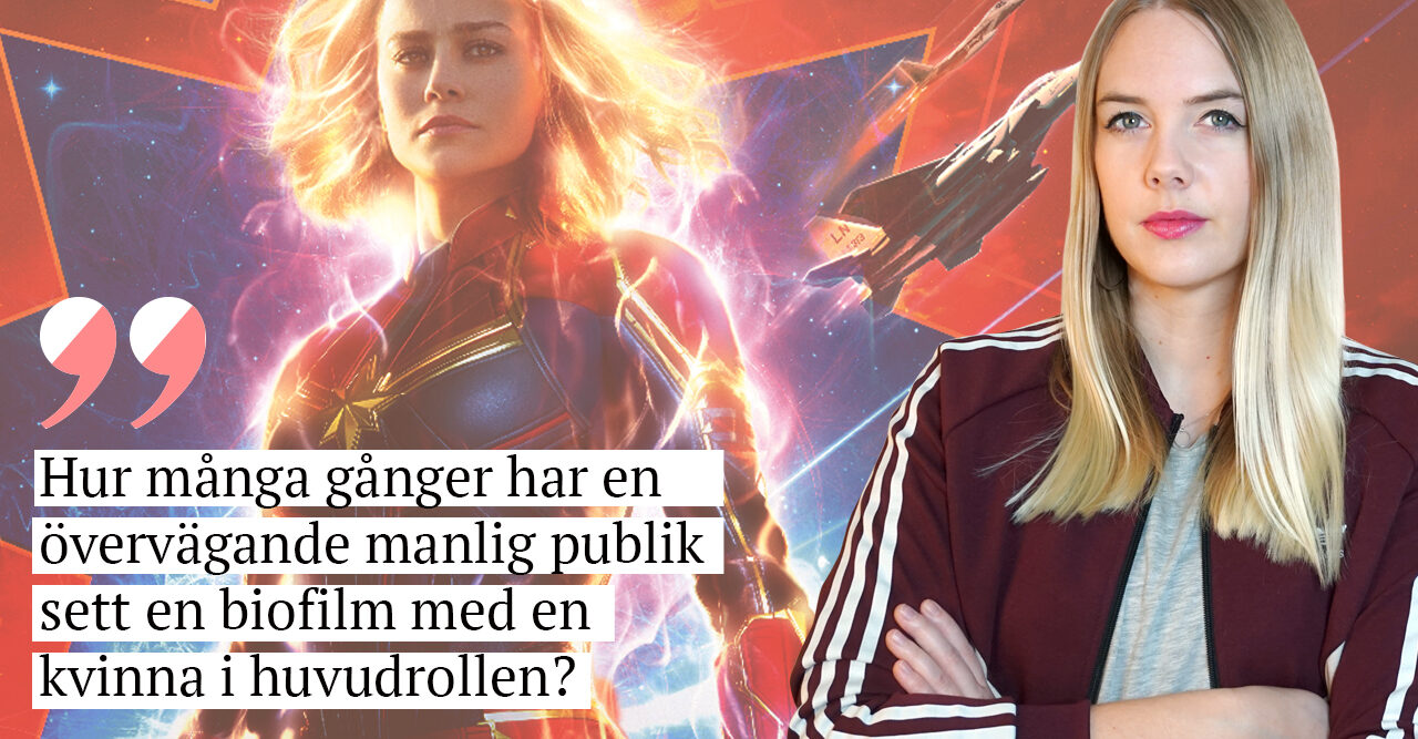 Nathalie Mark om Captain Marvel i en krönika i Baaam