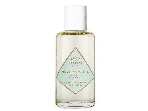 En bild på produkten Björk & Berries – Never Spring Energising Bath Oil som går att köpa på Åhlens.
