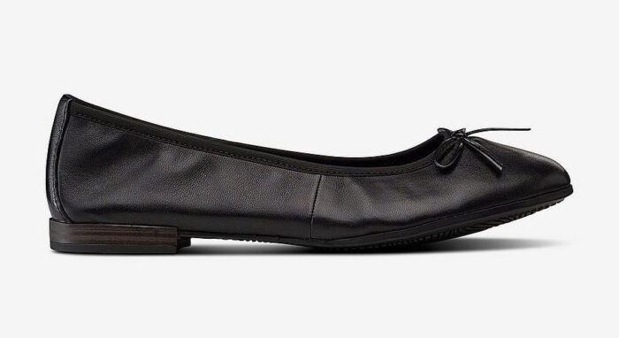 svarta balerina skor