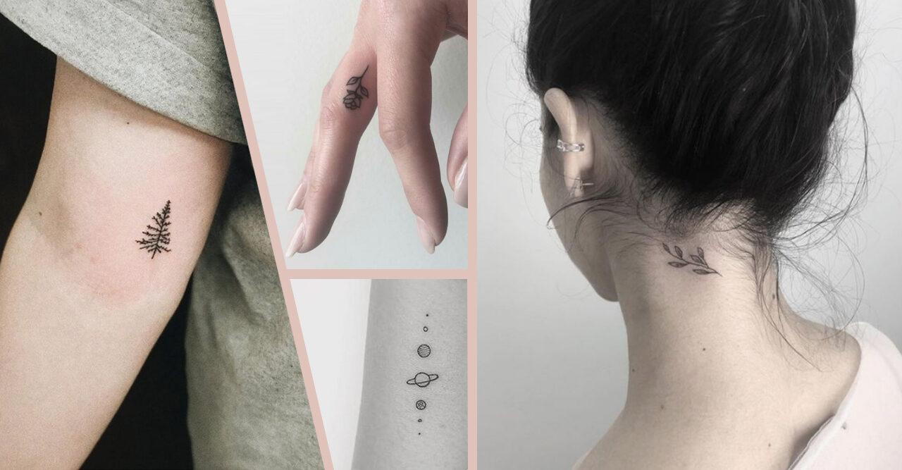 Små tatueringar: Inspiration