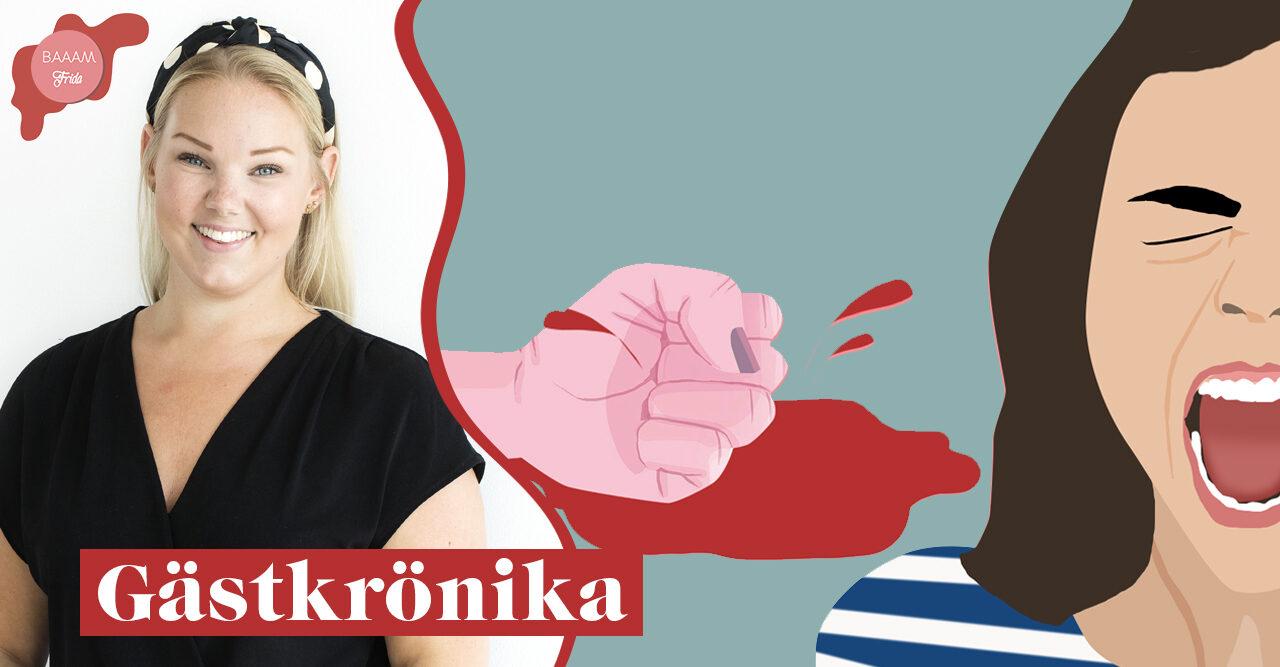 Gästkrönika Menssplaining av Johanna Sandwall