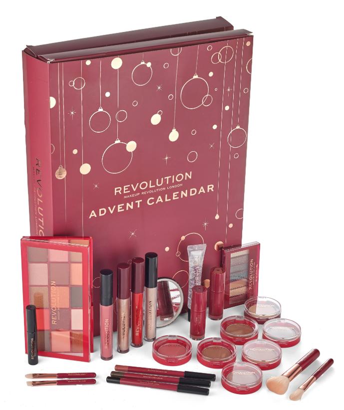 Adventskalender med smink till julen 2019